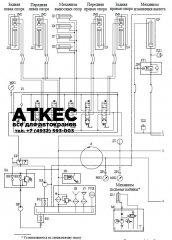гидравлическая схема КС-45717А-1Р