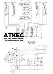 Схема гидравлическая принципиальная КС-6478